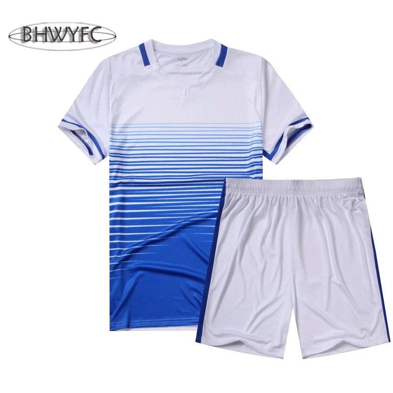 c8ae80aaa9 Bhwyfc números de camisas de futebol 2016 2017 homens diy personalizado  nome camisas de futebol definir maillot de foot sport treinamento treino