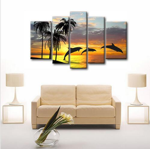 compare prices on dolphin oil paintings  online shopping