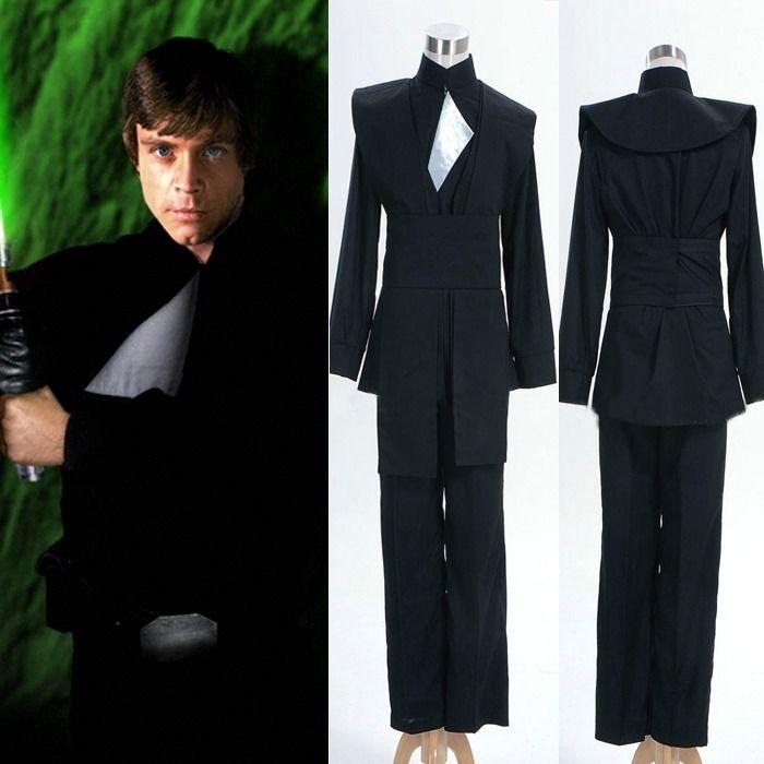 NEW Star Wars Return Of The Jedi Luke Skywalker Cosplay Costume