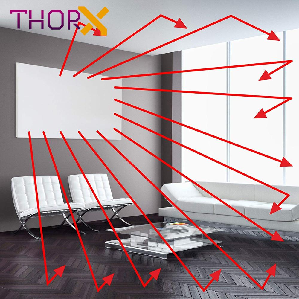 Image 4 - ThorX K300 300Watt 50*60cm Infrared Heating Panel With Carbon Crystal Technology-in Electric Heaters from Home Appliances