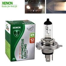 XENCN H4 P43t 12V 100/90W 3200 к прозрачные серии внедорожный Стандартный яркий автомобиль головной светильник галогенная лампа бренд лампы для передних автомобильных