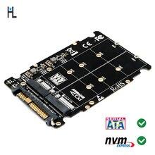 M.2 Накопитель SSD с протоколом nvme ключ M ключ B SSD к U.2 SFF-8639 адаптер, m2 m Ключ адаптер, m.2 nvme к sata