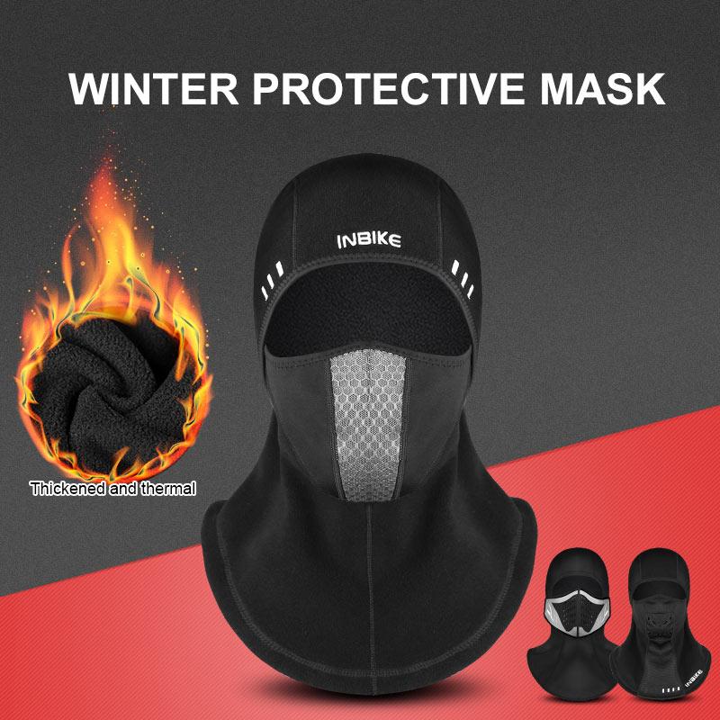 New Outdoor Windproof Motorcycle Under Helmet Thermal Ski Fleece Face Mask More Discounts Surprises Home