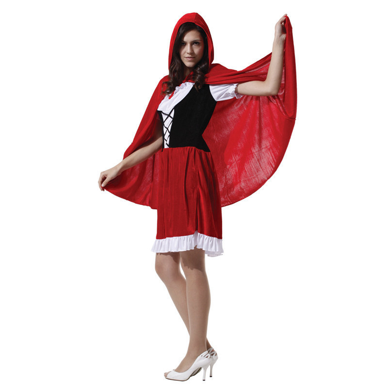 little red riding hood Christmas Carnival halloween costumes for women plus size sexy adult Masquerade Party Fancy Dress Cosplay