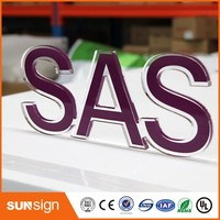 Custom Advertising Acrylic Signage Wholesale Business Signs Acrylic Letters