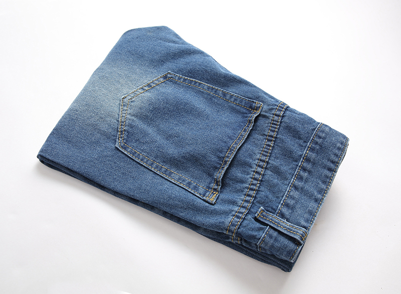 2019 Men Stylish Ripped Jeans Pants Biker Slim Straight Hip Hop Frayed Denim Trousers New Fashion Skinny Jeans Men European Size