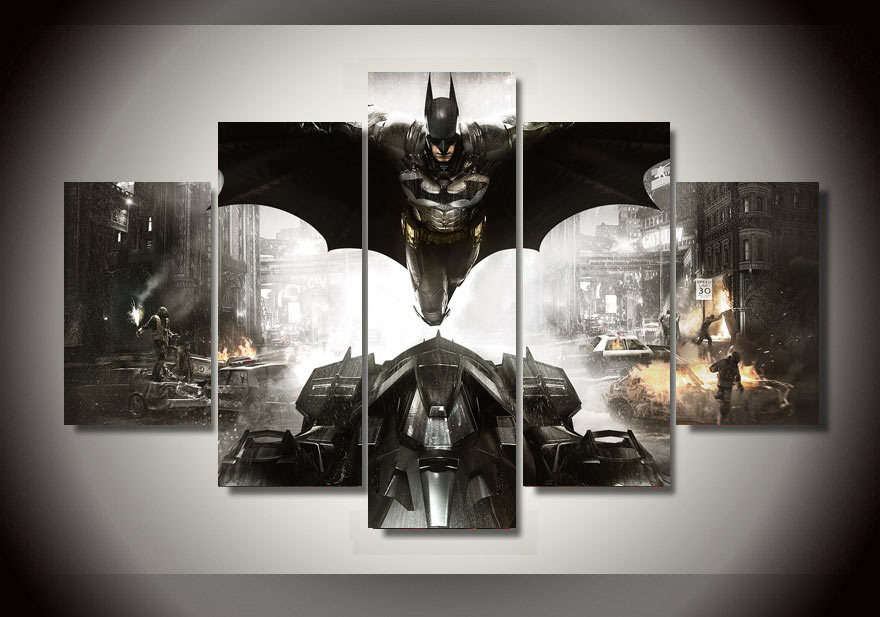 Hd Printed Batman Movie Poster Group Painting Canvas Print Room Decor Print Poster Picture Canvas Unframed