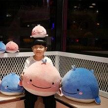 25/40cm Kawaii Whale Plüsch Spielzeug Kissen Weiche Cartoon Marine Tier Fisch Puppe Schöne Spielzeug Für Kinder Geburtstag geschenk Wohnkultur