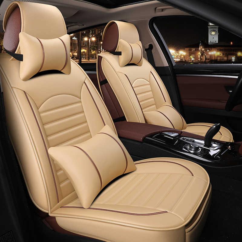 5 Kursi Mobil Kursi Mobil Penutup Cocok Mitsubishi Lancer-EX/Zinger/Fortis/Pajero/Galant/ cross/Usaha/L200/Cololt/Outlander/ASX