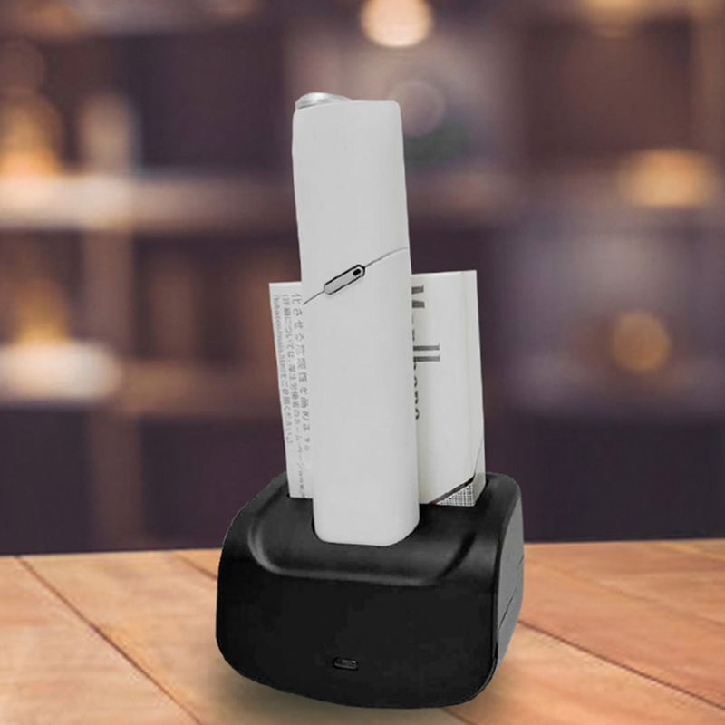 Car Charger E-Cigarette Holder Type-C Organizer Portable Air Vent Bracket Mount Accessories For IQOS Multi Electronic Cigarette
