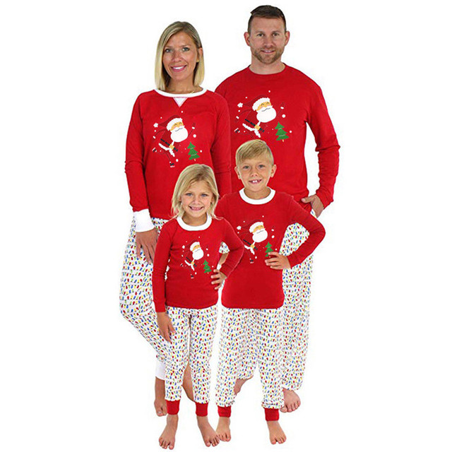 b2e4b8195 Family Look Christmas Family Matching Outfits T Shirt Mother ...