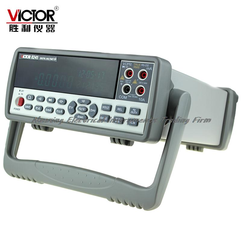 Fast arrival VICTOR 8245 VC8245 Bench desktop display with high precision digital MULTIMETER