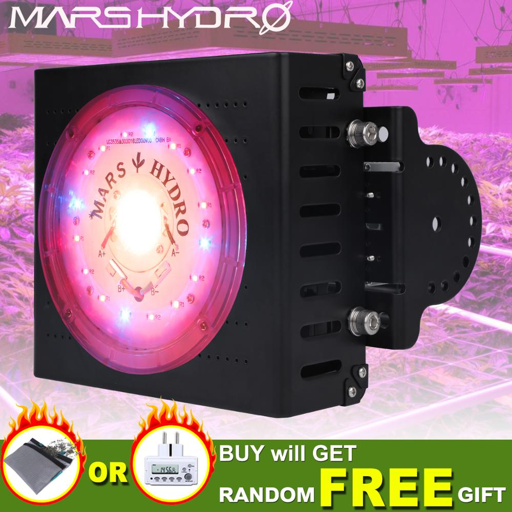 Marshydro CXB3590 COB 300 W Cresce A Luz LED Jardim Interior Plantas Hidroponia LEVOU Crescer Lâmpada Do Painel Lâmpada Armazém Em Todo O Mundo
