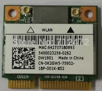 סיטונאי חדש אלחוטי SSEA DW1901 עבור Atheros AR5B22 300 300mbps Mini PCI-E כרטיס ABGN 802.11 2.4 Ghz/5 Ghz WiFi + 4.0 Bluetooth