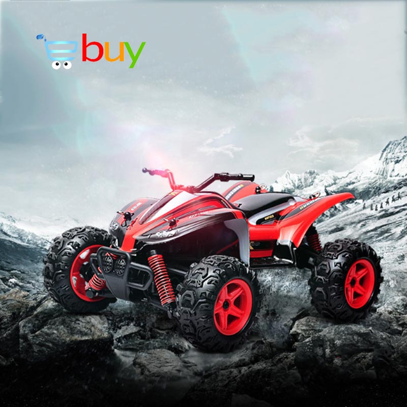 RC Car 4WD High Speed Remote Control Rock Crawlers SUV Buggy Drift Off-Road Vehicle Bigfoot Car Model Electronic Toys 2.4G 1:24 wltoys 12402 rc cars 1 12 4wd remote control drift off road rar high speed bigfoot car short truck radio control racing cars