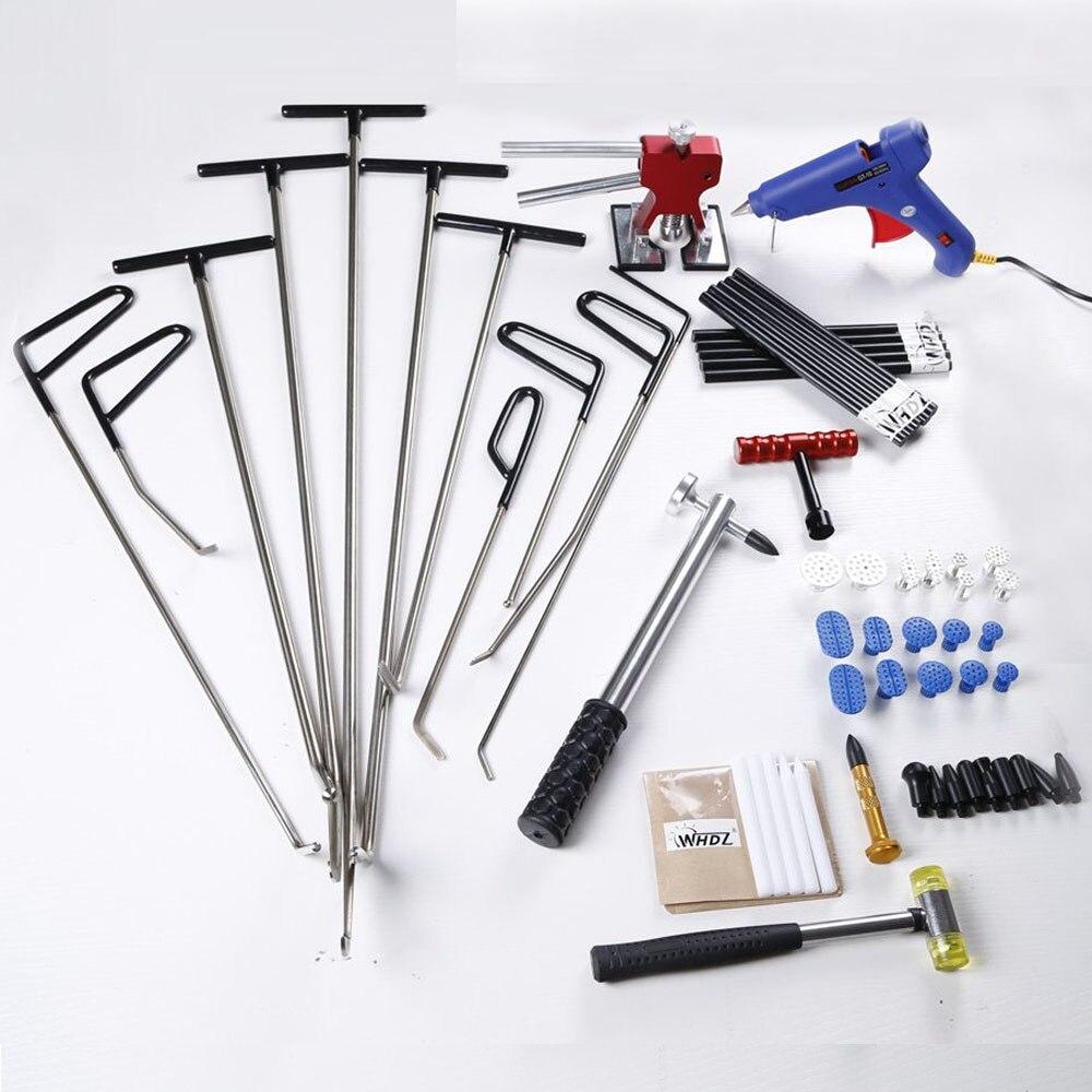 Whdz Авто PDR инструменты Paintless Дент ремонтный набор-ремонт автомобилей комплекты