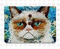 Чувствовал laptop sleeve cat ноутбук случае девушки сумочка для macbook Pro/ipad
