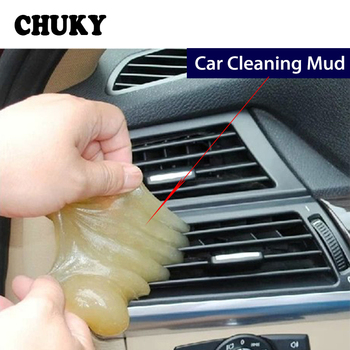 CHUKY Car Styling Dust Cleaning Compound Slimy Gel For Abarth Fiat 500 BMW E60 E36 Mercedes Benz W204 Volvo XC90 V70 Accessories image