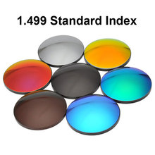 1.499 CR-39 Mirror Coating Tinted Sunglasses Prescription Optical Lenses Anti-Glare Polarized Lenses Polarized Lens myopia tinted film eyeglass sunglasses lenses color dyed sheet gradient resin lenses large diameter custom prescription lenses