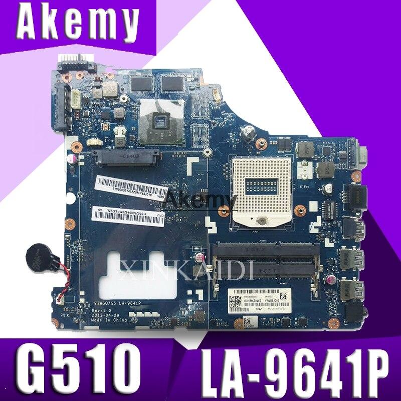 LA-9641P G510 For Lenovo G510 Motherboard For Lenovo VIWGQGS LA-9641P Laptop Motherboard Test Original 100% Work