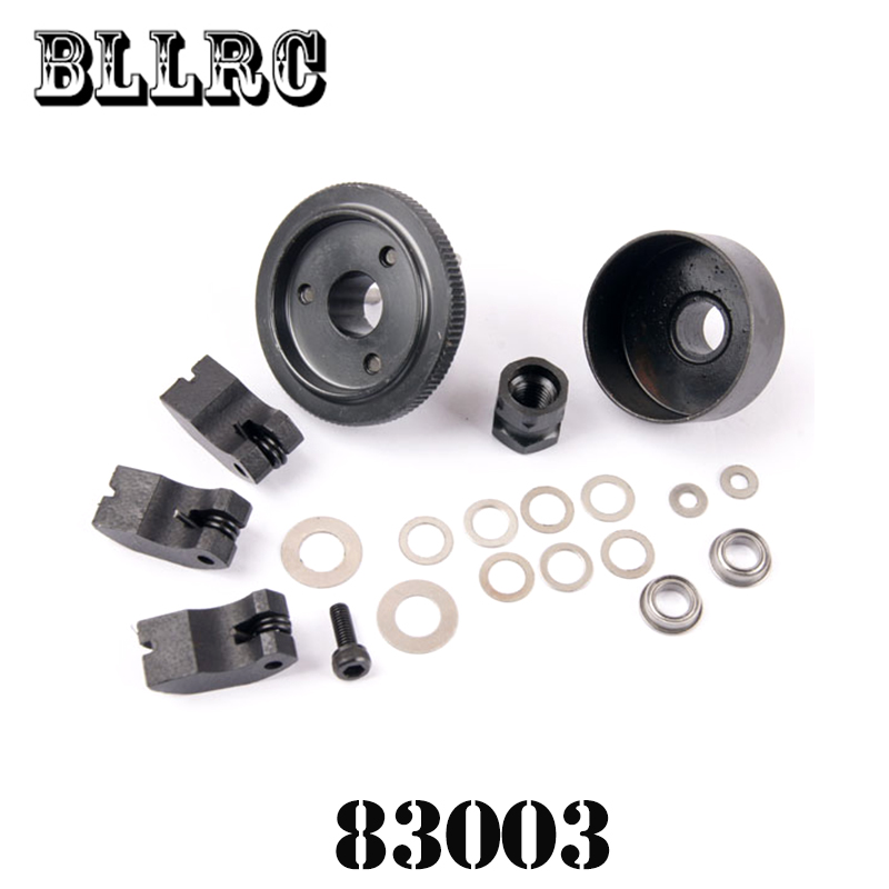 HSP RC Car 1/8 83003 Clutch Bell(10T)+Flywheel Assembly 1:8 Scale Models Spare Parts For RC Model Cars HIMOTO 94083 94087 94088 60065 differential gear set for hsp rc 1 8 model car spare parts 94760 94761 94763