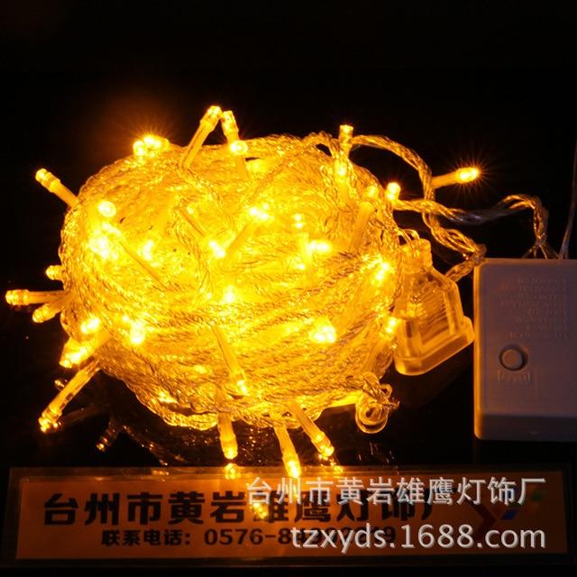 2018 spotlight christmas lights spotlight lights led flashing festival decoration string light garden color lamp 10