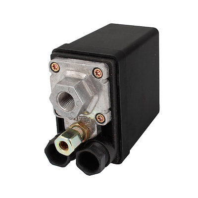 Pool Spa Water Pump 4 Ways Valve Automatic Air Compressor Switch AC 240V 15Amp 13mm male thread pressure relief valve for air compressor