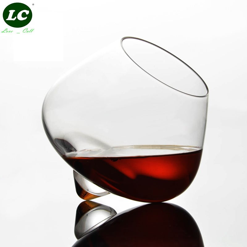 Whisky Cup Handmade Wine Glass Lead-free Crystal Cup Bar Champagne Wine Spirit Glass Beer Shake cup Special-shaped Cocktail