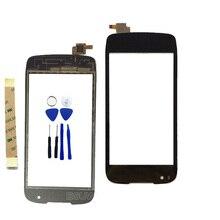 Новый Сенсорный Экран Для Fly IQ4405 Evo Chic 1 IQ 4405 Сенсорный экран С Digitizer переднее стекло Сенсорный Мобильный Телефон панели
