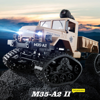 RC Cars Remote Control Car Toys 1:16 Off Road Military Truck Crawler RC Car Brush Motor Remote Control Toys