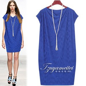 Hot-selling 2013 high temperature shaping elegant one-piece dress fashion plus size slim one-piece dress