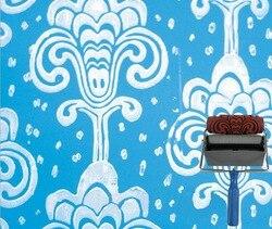 2014 nowość narzędzia do malowania 5 cal gumowe teksturowane wałek do wall decor bez maszyny do dekoracji 04