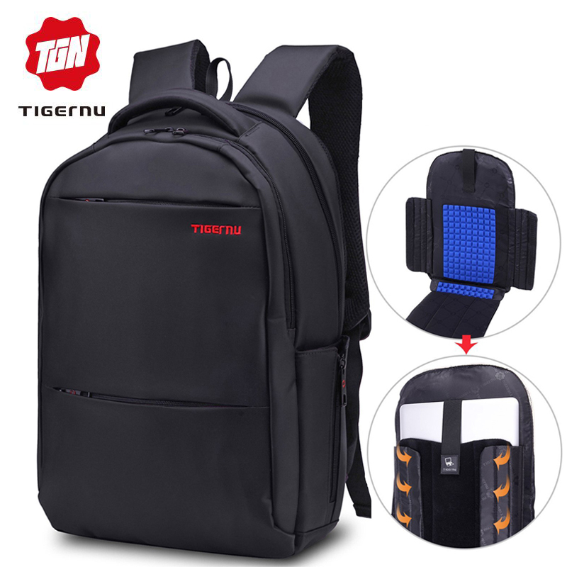 Women Men's Backpack Tigernu Brand Large Capacity 17inch Laptop Backpack Men Casual Business Mochila Bag School Backpack