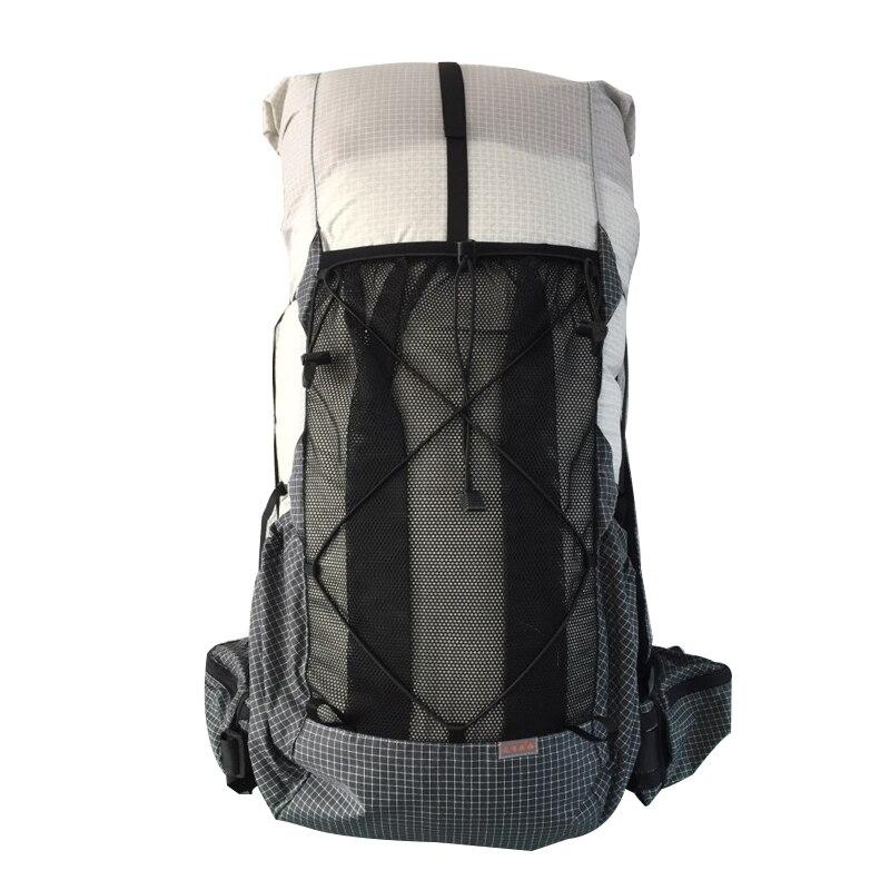 35L-45L léger Durable voyage Camping randonnée sac à dos en plein air ultra-léger sans cadre Packs XPAC & UHMWPE 3F UL GEAR - 3