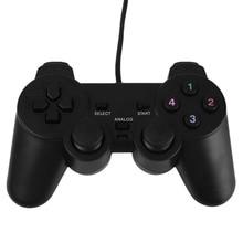 Cewaal Nuevo Wired USB Gamepad Juego Joypad Joystick de Control Para PC Gamer Ordenador portátil Negro