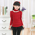Kids Sweater 2016 Must Haves Girl Winter Sweater Fashion Children Pullover Turtleneck Sweaters Wool Knitted For Girls