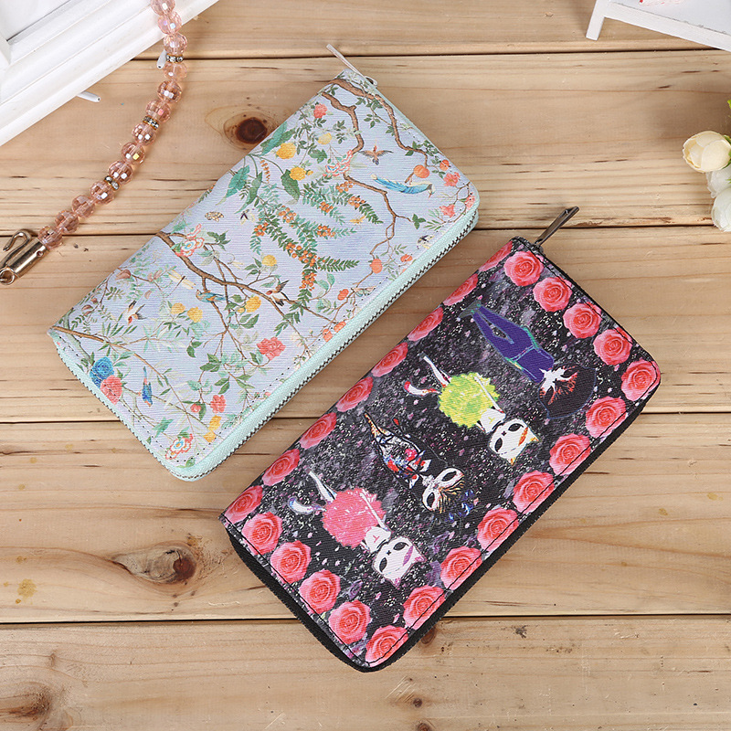 YOUYOU MOUSE Multi-Functional Women Wallet Long PU Leather Wallets Fashion Lady Clutch 2 Fold Coin Purse Money Bag Card Holder youyou mouse high quality women long wallets fashion pu leather money wallet 6 colors lady clutch coin purse card