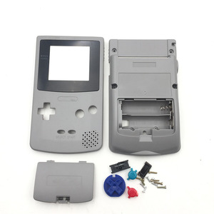 Image 2 - White & Grey For Nintendo GBC GameBoy Color Replacement Housing / Shell Case Cover Skin
