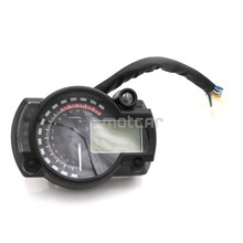 7colors Motorcycle 12V LCD Digital Backlight Tachometer Tacho Control Gauge Speedometer Odometer Universal For Kawasak Honda KTM for honda cbr400 nc29 speedometer tachometer tacho gauge instruments motorcycle parts