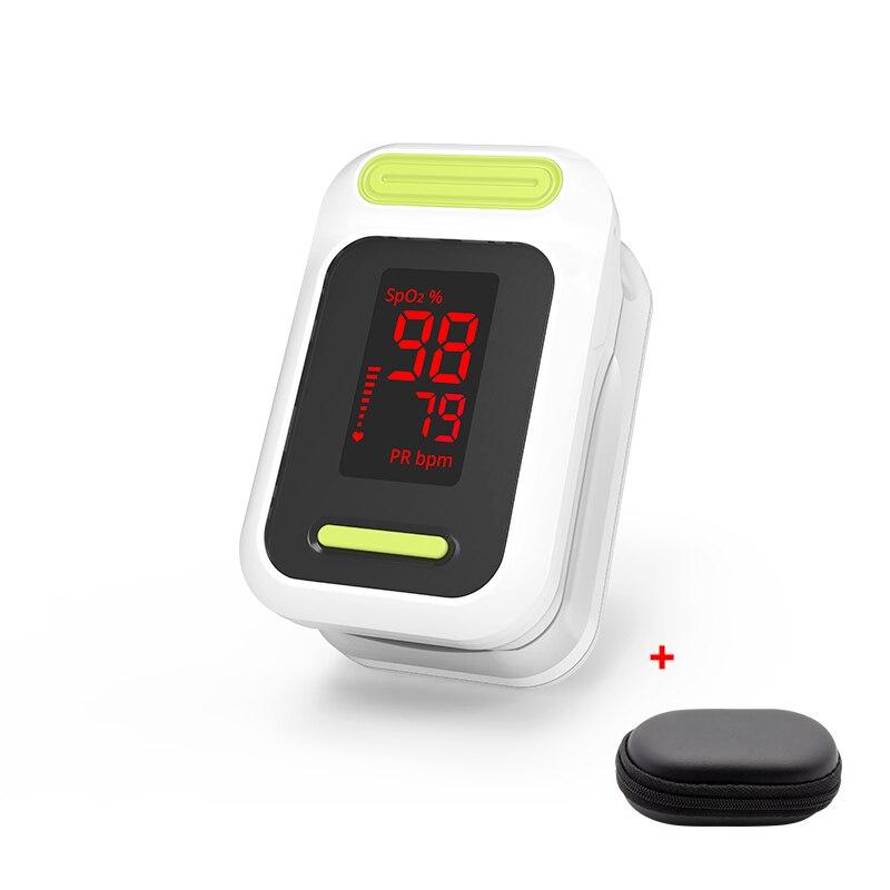 BOXYM Médica Oxímetro de pulso Saturometro Oxímetro De Pulso de oxigênio no sangue Monitor de Freqüência Cardíaca Monitor de LED CE Oxímetro De Dedo