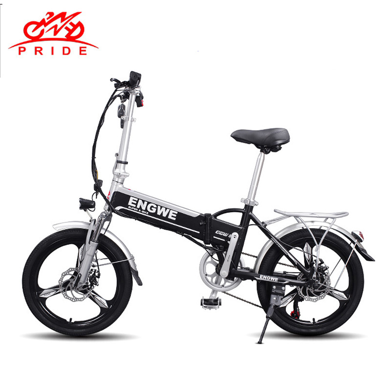 PRIDE Electric bike 20inch Aluminum Folding electric Bicycle 500W 48V12.5A Battery Electric Power Mountain e bike NO TAX TO RU more than a conqueror
