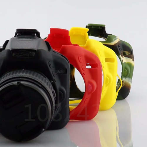 Nice Soft Silicone Rubber DSLR Camera Protective Body Cover Case Skin For Nikon