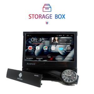 Image 5 - 1din Android 8.1 GO Quad Core Car DVD GPS Navigation Player 7 Universa Car Radio WiFi Bluetooth MP5 Multimedia Player