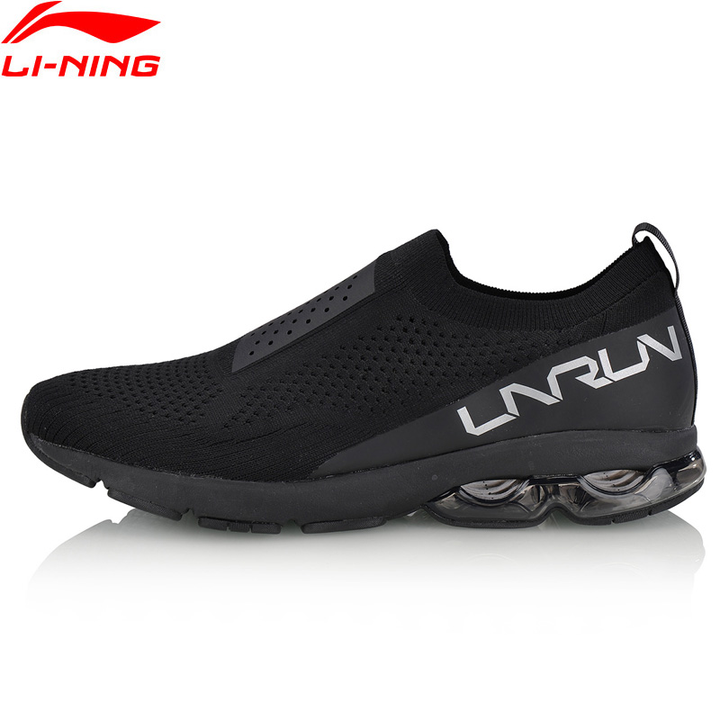 Li-Ning 2018 Men Air Cushion Running Shoes LN ARC Mono Yarn Sock-Like Breathable Sneakers LiNing BUBBLE ARC Sports Shoes ARHN021 li ning men ln arc element running shoes cushion breathable lining sport shoes sneakers arhm053 xyp600