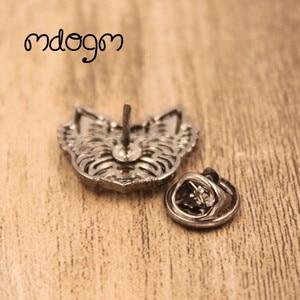 Mdogm 2020, брошки и заколки в виде йоркширской собаки, милый забавный металлический маленький ошейник для папы, значки в подарок для мужчин B043