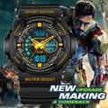 SANDA Fashion Watch Men G Style Waterproof Led Digital Sports Military Shock Men's Analog Quartz Wristwatch Relojes Hombre