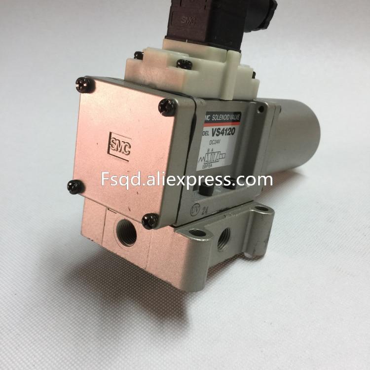 VS4120 VS4130 24v VS4130 220v VS4110 220v VS4110 24v SMC solenoid valve electromagnetic valve pneumatic component smc type pneumatic solenoid valve sy3320 3lzd m5