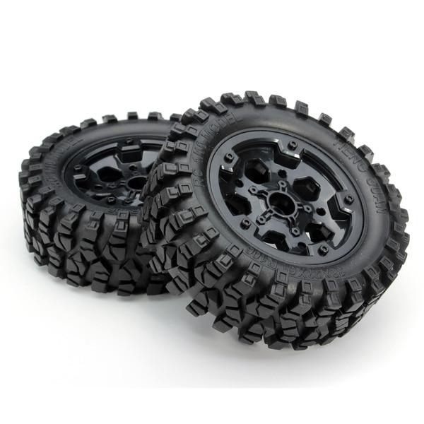 2PCS HG P402 P601 1:10 RC Car Wheels HG CL02-in Parts