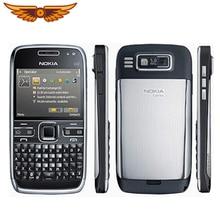 Мобильный телефон Nokia E72, 3G, Wifi, 5 Мп, разблокированный, отремонтированный, не иврит, клавиатура, мобильный телефон, английский, русский, арабский, клавиатура