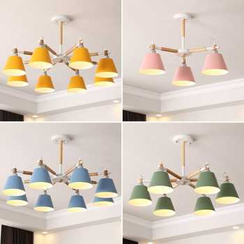 TRAZOS Nordic Pendant Lamps For Bedroom Reading Wall Sconce Bedside Luminaira Modern Wooden E27 Wall Mounted Lighting Fixtures